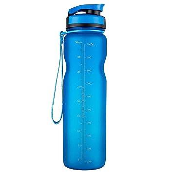 XIYUNTE Cantimploras y Botellas de Agua - 1000ML Sport Botellas de Agua Prueba de Fugas,