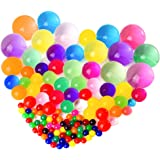 """Kuuqa Large Sized Diameter 1.5""""-1.8"""" Super Water Beads Water Growing Balls for Vases Wedding Decoration And Party Supplies Party Favors (150 Beads)"""