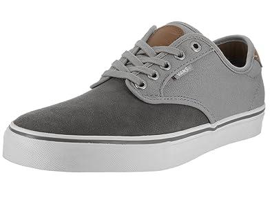 0451f582ed Vans Chima Ferguson Pro Two Tone Pewter Grey Men s Skate Shoes Size 7.5