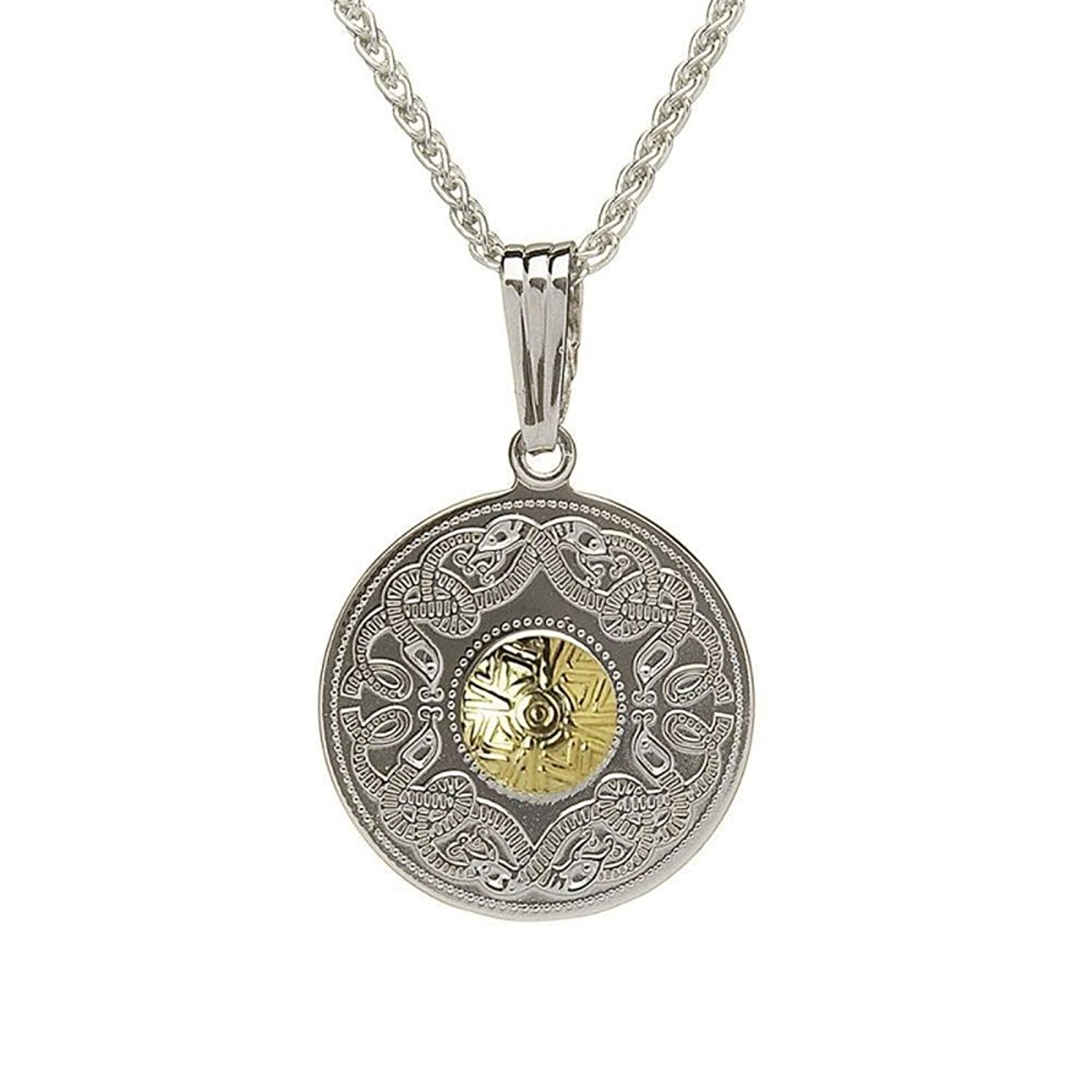 pewter celtic of collection pin warrior necklace glamour destiny shield cord pendant black unisex carolina