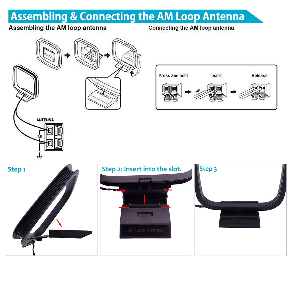 Am loop antenna hook up