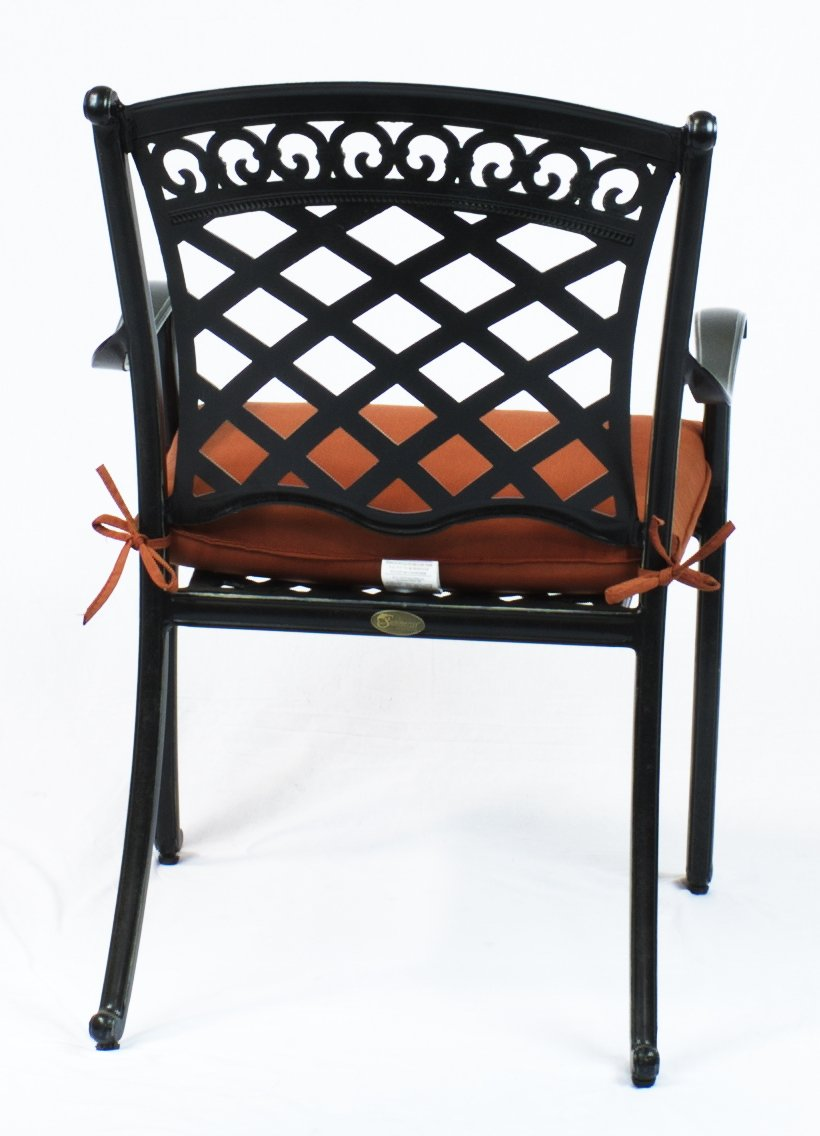 Amazon.com: 6 St. Tropez sillas de comedor de aluminio ...