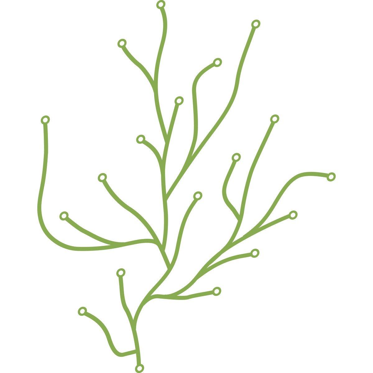 amazoncom vitra algue plastic element green home  kitchen -
