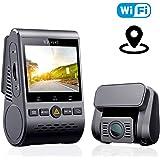 VIOFO A129 Duo ドライブレコーダー ドラレコ 前後カメラ 前後2カメラ デュアルレンズ デュアルカメラ Wi-Fi搭載 GPS WDR補正 SONY製センサー 前後スタービス 夜間撮影に強い 最大256GB 駐車監視 地デジノイズ対策済み 1年間保証