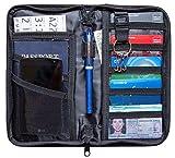 Travel Document Organizer Passport Holder and Travel Wallet with RFID Blocking