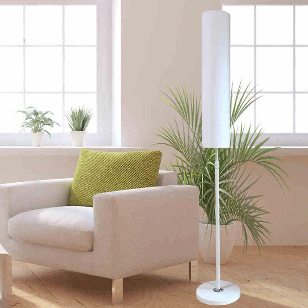 JCRNJSB® フロアランプ居間寝室研究シンプルでモダンなフロアランプクリエイティブフロアランプヨーロッパスタイルのLEDランプ(光源なし) 照らすために調光可能 ( 色 : 白 , サイズ さいず : L l ) B07C1H5VX6 26382 L l|白 白 L l