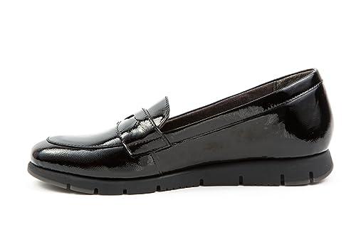 Aerosoles - Mocasines de Charol para Mujer 37, Color Negro, Talla 37: Amazon.es: Zapatos y complementos
