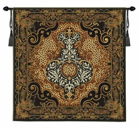Fine Art Tapestries ''Onyx Safari'' Wall Tapestry by Fine Art Tapestries