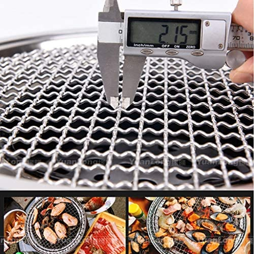 Guoguocy Grills électriques Barbecue, BBQ, sans fumée coréenne Ménage Barbecue au Charbon, évents Multiples, intérieur et extérieur (Size : A)