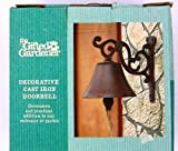 The Gifted Gardener Decorative Cast Iron Door Bell New Vintage Style by The Gifted Gardener