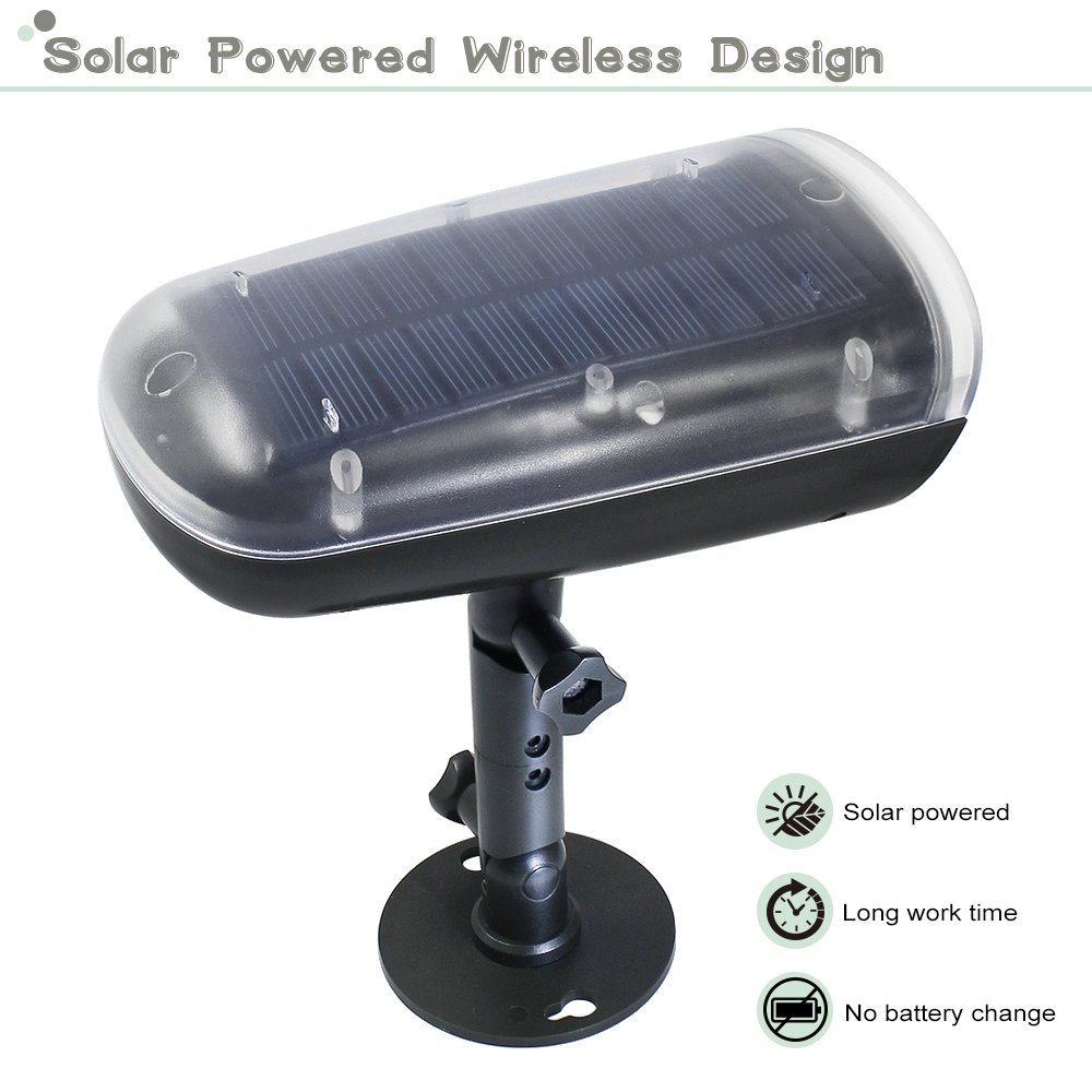 Torchstar Led Solar Powered Outdoor Security Light With Motion Photocells For Lights Sensor Photocell Auto On Off Wall Mount Spotlight Garden Porch Patio Garage