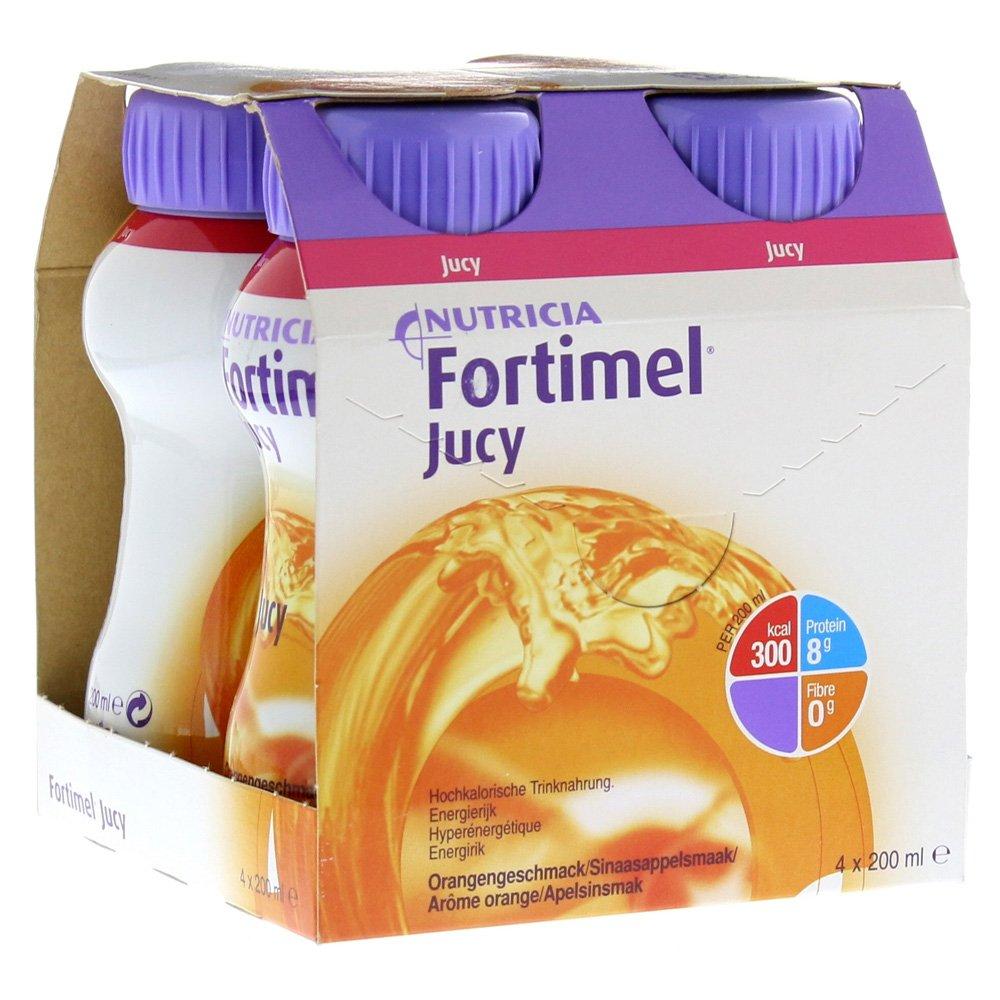 Fortimel Jucy sabor naranja, 4 x 200 ml: Amazon.es: Salud y cuidado personal