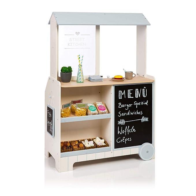 Musterkind Piperis Spielküche mit Kaufladen - Spielküche und Kaufladen in einem