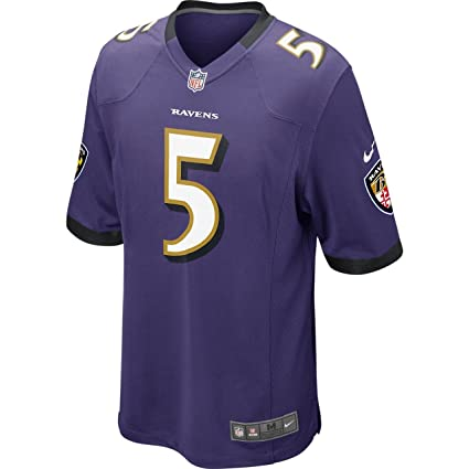 7a7f197e6 Amazon.com : Nike Baltimore Ravens Joe Flacco Jersey - Purple : Clothing