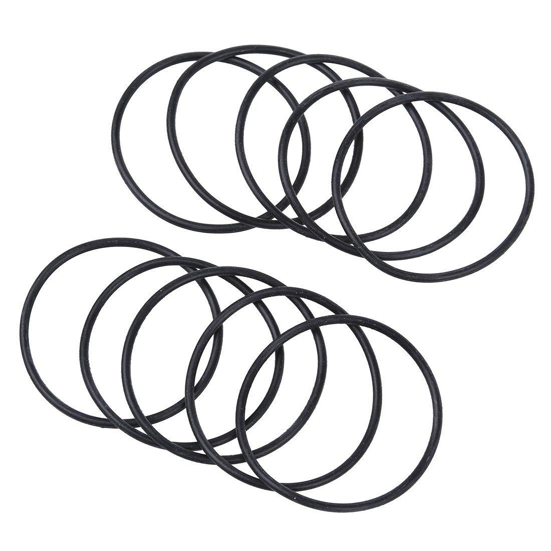 45 x 3,5 mm R 4 Stueck mechanisch O-Dichtungsringe TOOGOO aus Gummi O-Ring-Dichtungen