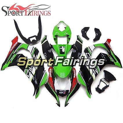 Amazoncom Sportfairings Complete Fairing Kit For Kawasaki Zx10r Zx