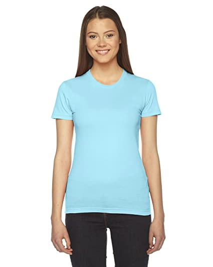 1836fed3 Amazon.com: American Apparel Women Fine Jersey Short Sleeve Women's ...