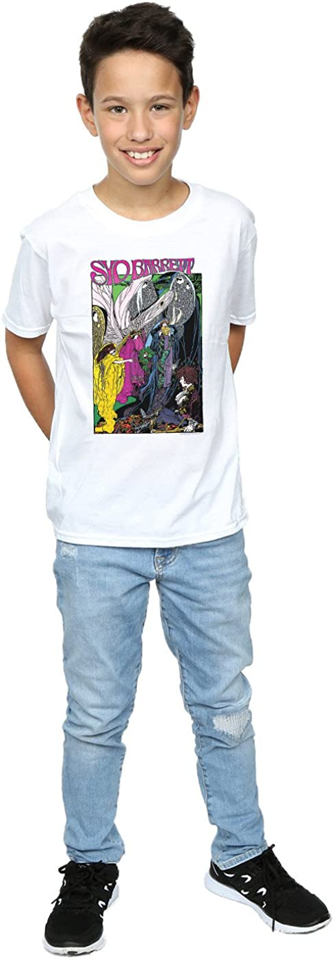 Syd Barrett Boys Fairies Poster T-Shirt White 9-11 Years