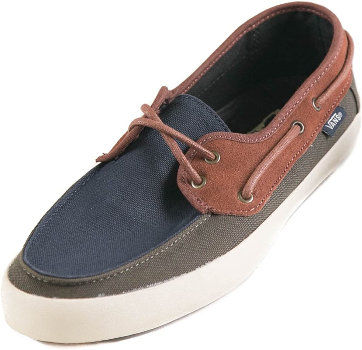 Tone Boating Shoes Navy/Forest/Brown
