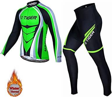 Ciclismo Maillot Hombres Jersey Pantalones Largos Jersey Culote ...