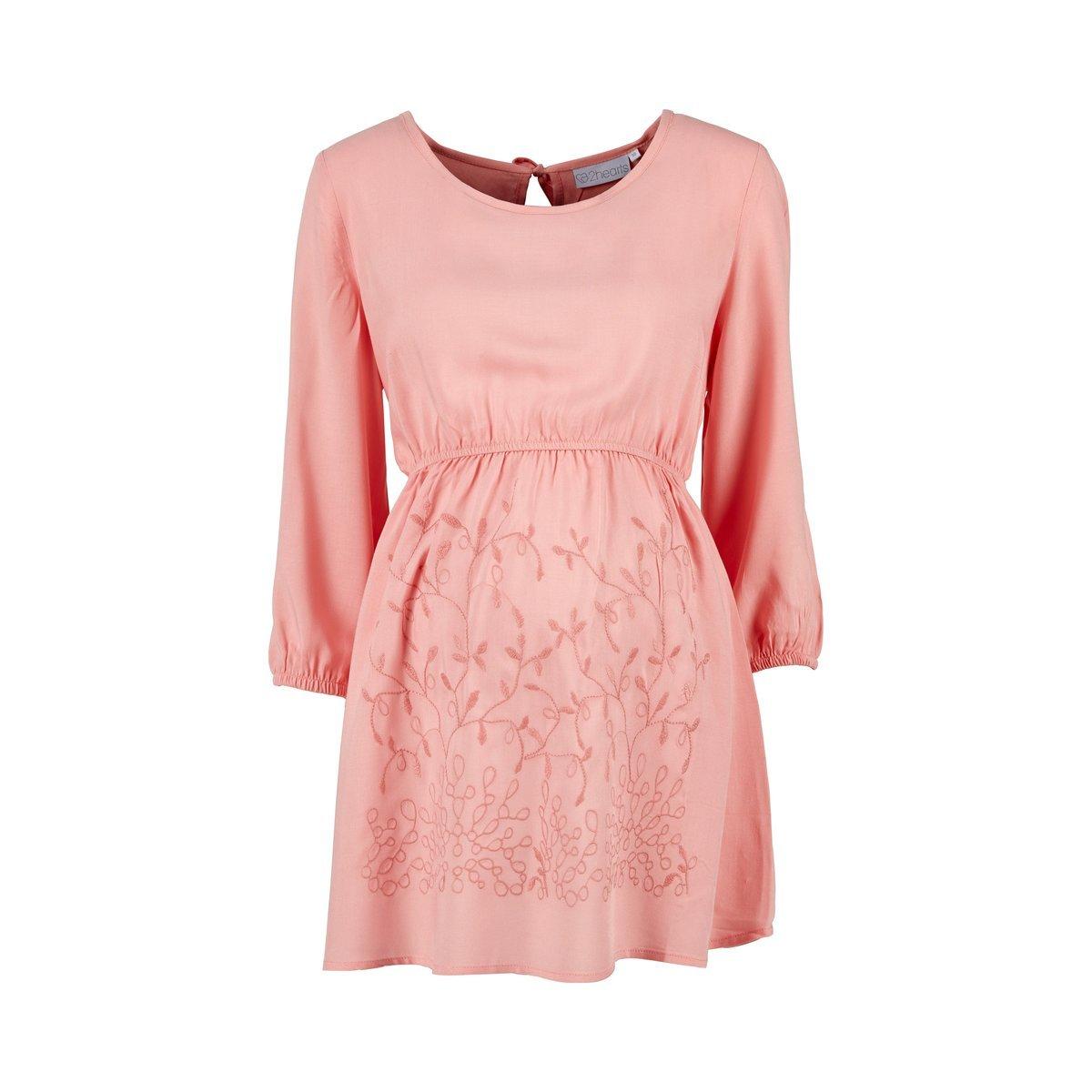 2HEARTS Mermaid in Love Umstands-Bluse Rosa/Damen Umstandsmode/Schwangerschaftsmode / Bluse für Werdende Mamas