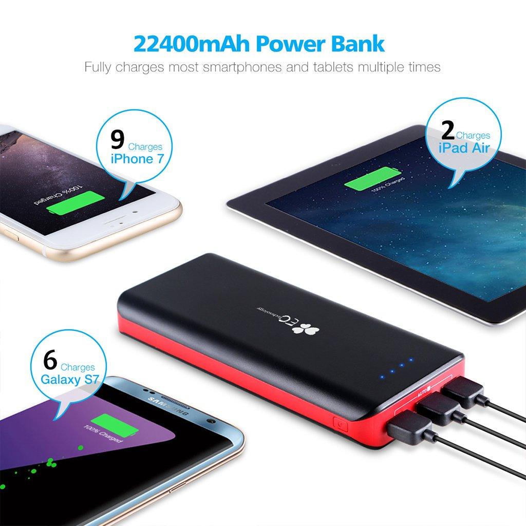 Kết quả hình ảnh cho Technology EC 22400mAh Power Bank