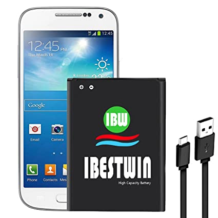 IBESTWIN S4 Mini Battery, 3.8V 1900mAh Li-ion Battery Replacement for  Samsung Galaxy