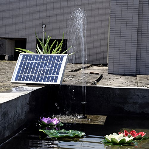 Top 10 Best Outdoor Fountains Solar Best Of 2018 Reviews