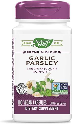 Nature s Way Garlic Parsley, 1,090 mg per serving, 100 Capsules