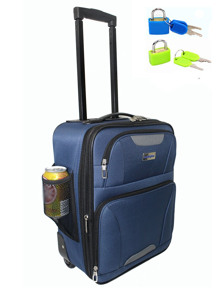 "BoardingBlue Free Carry On 21""x14""x9"" For America Airlines going to Cuba 70%OFF"