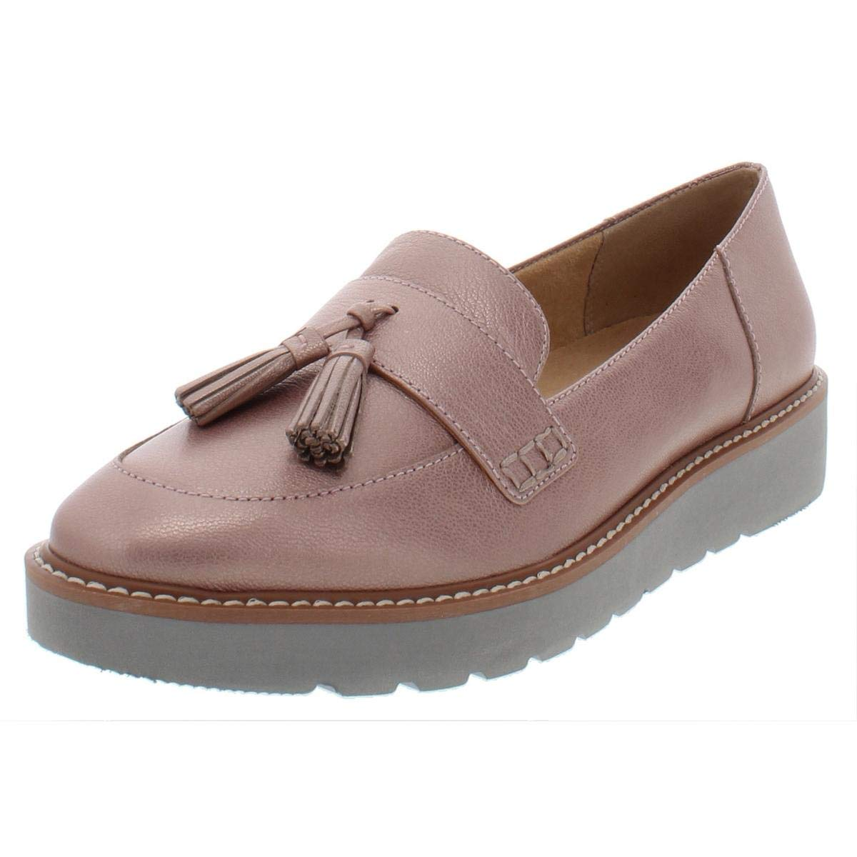 pink gold Naturalizer Women's August Slip-On Loafers