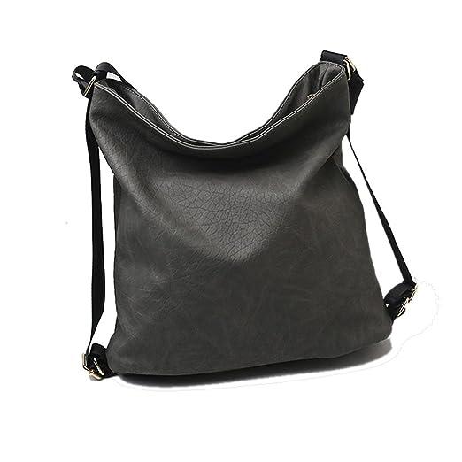 217526c5a Amazon.com: C.A.Z Convertible Backpack,Caszel Convertible Purse to Backpack  Soft Vegan Leather Handbag Bag: Sports & Outdoors