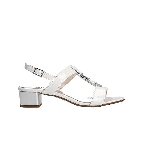 MELLUSO Sandali Scarpe Donna Bianco Elegante K35092 36 Venta Con Paypal Precio Increíble Precio Barato Venta Salida De Precio Barato La Venta En Línea Populares OAqV5I