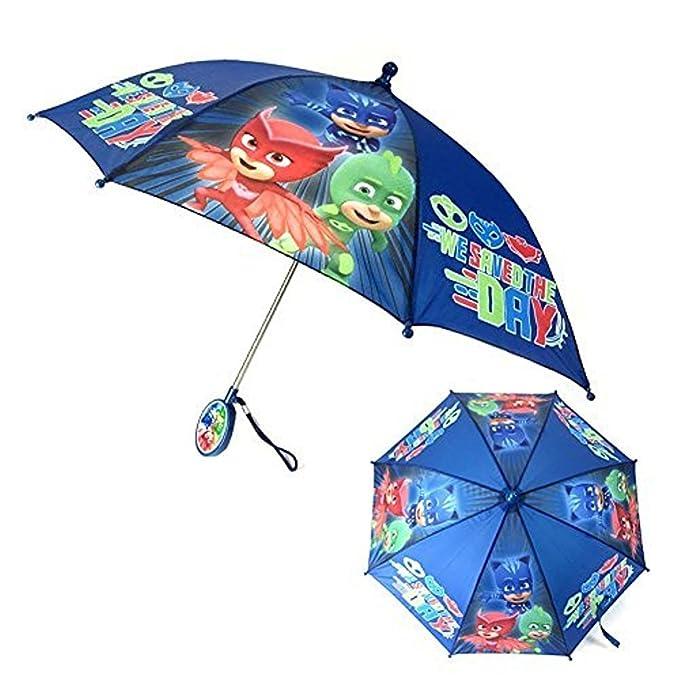 Amazon.com: PJ Máscara Stick para niños paraguas con ...