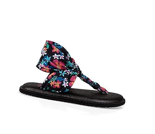 Amazon.com: Sanuk Girls niños Lil Yoga Sling Ella ...