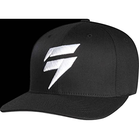 quality design 7169a f080d ... switzerland fox racing shift barbolt flexfit hat 68298 black white s m  eae20 08f53