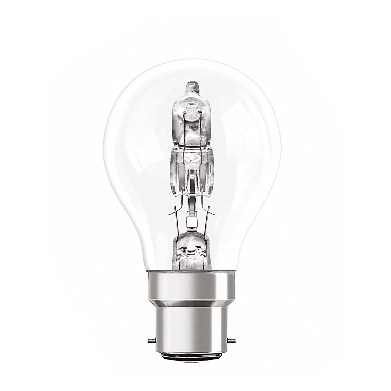 Long Life Lamp Company Candles B22 42 Watt Halogen Eco Energy Saving Bulb Pack