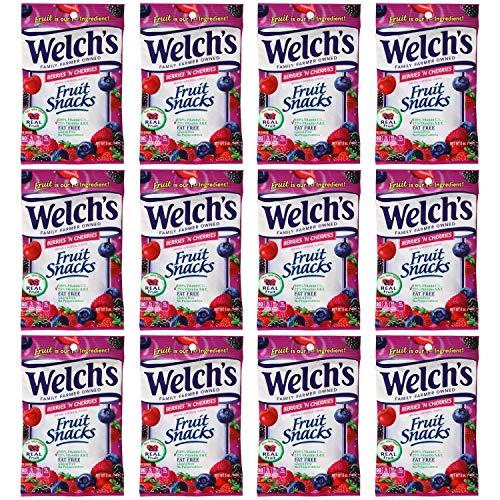 Welch's Berries N Cherries Fruit Snacks, 12 - 5oz Bags for $<!--$22.66-->