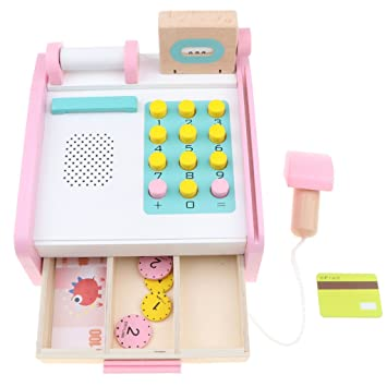 4a58b7cad7df1d Baosity キャッシュレジスター おもちゃ お店屋さん ままごと ごっこ遊び レジ スーパーマーケット道具