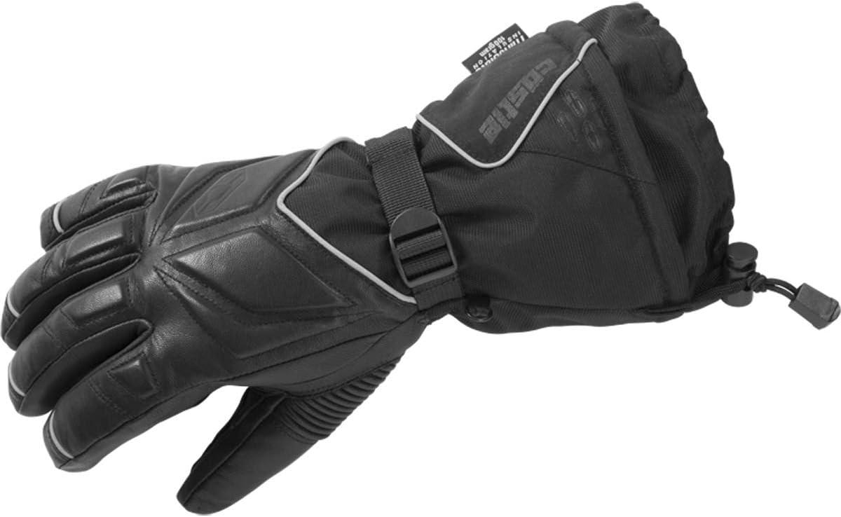 Castle X TRS G2 Mens Snowmobile Gloves Black LG