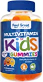 Complete Daily Gummy Multivitamin for Kids by Feel Great 365 (45 Servings) | Children Multivitamins to Support The…