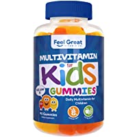 Feel Great Vitamin Co. Multivitamin Gummies for Kids | Daily Chewable Supplement...