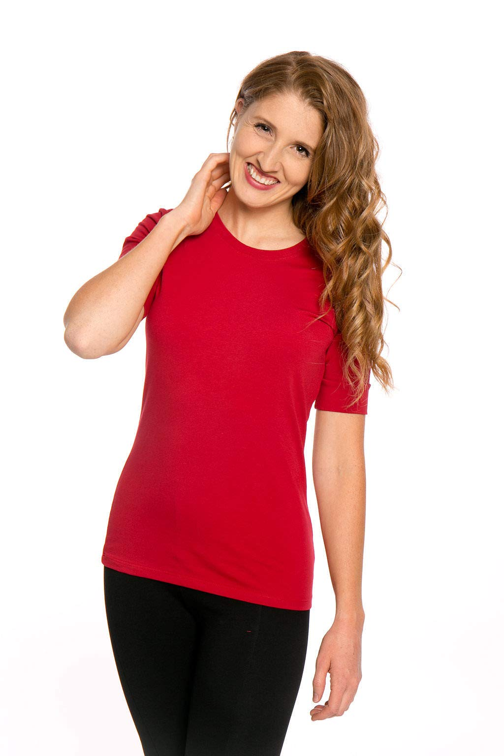 Heirloom Clothing 1/2 Sleeve Tango Red Medium
