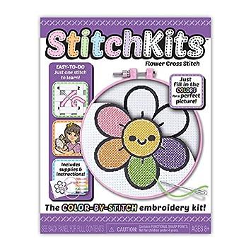 Kahootz StitchKits - Flower Stitching Kit
