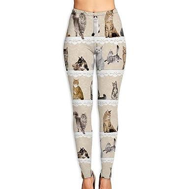Amazon.com: Leggings elásticos para mujer, varios poses ...