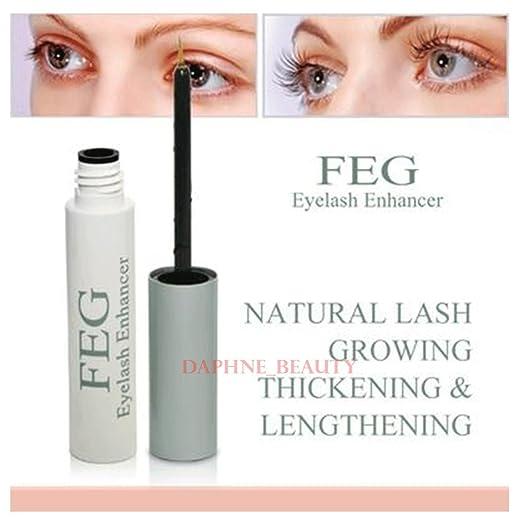 6768d28ee3f Amazon.com: 2 Boxes FEG Eyelash Enhancer Serum - increasing the length,  thickness and darkness 0f Eyelashes (Genuine Hologram): Health & Personal  Care