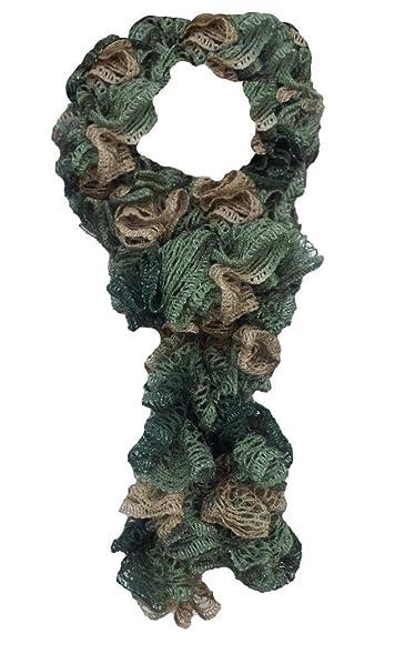 Amazon Premier Sashay Ruffle Yarn Hand Knit Fashion Scarf For