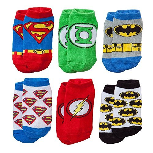 Justice League Toddler Socks 2T-4T - Hero And Villian Costumes