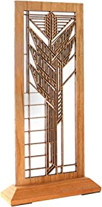 Frank Lloyd Wright Dana Sumac Hardwood Mini Screen