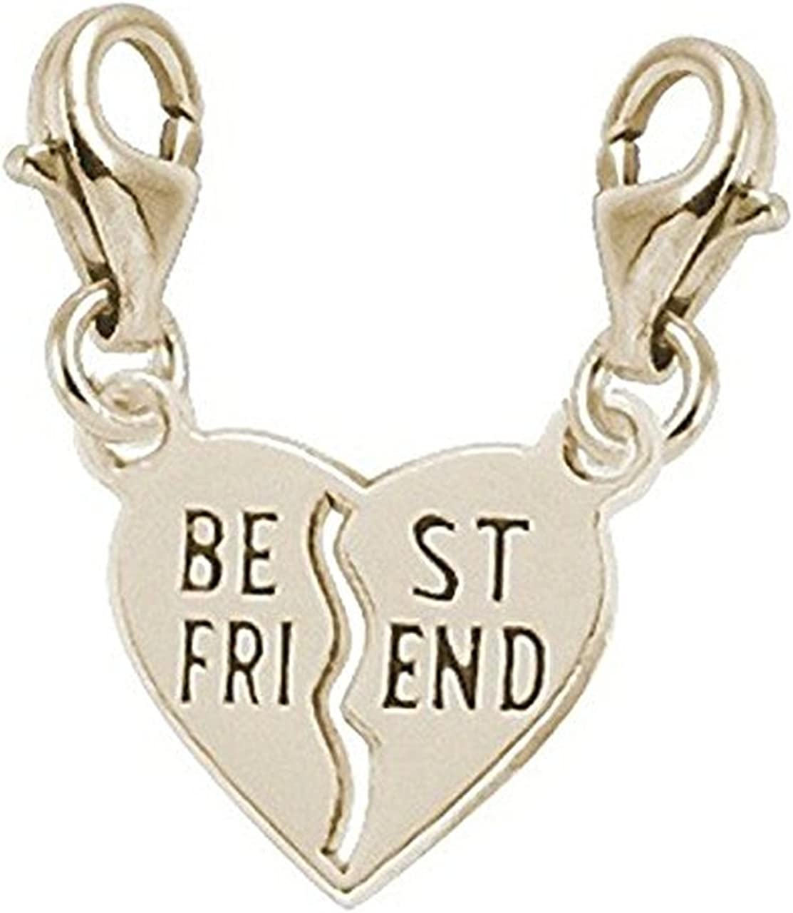 Rembrandt Charms Best Friends Charm with Lobster Clasp
